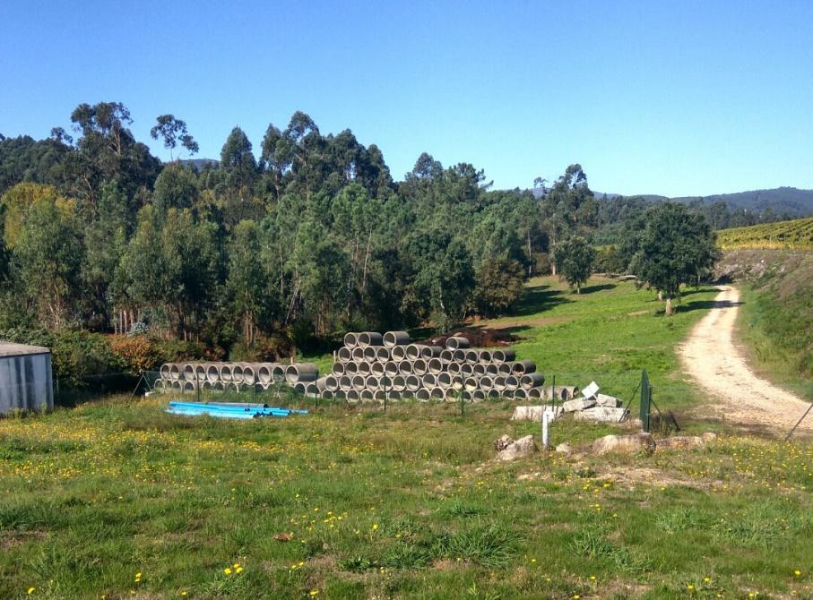 Planta piloto con humedales artificiales para el proyecto Wetwine Tomiño (2)