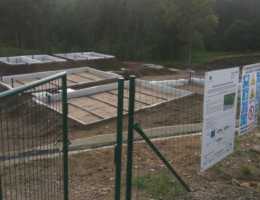 Planta piloto con humedales artificiales para el proyecto Wetwine Tomiño (4)